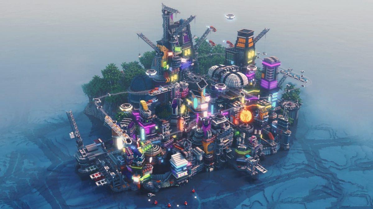 Render de Hive City par Voenixx