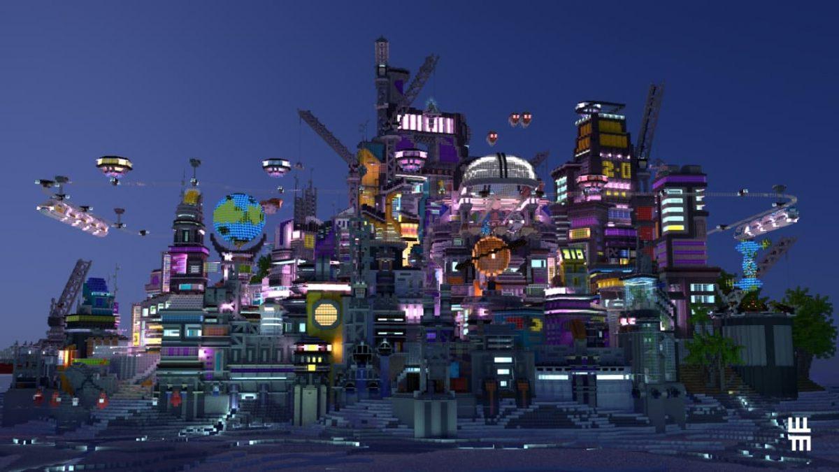Render de Hive City par WindMotion