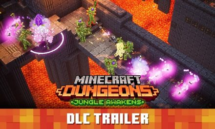 Minecraft Dungeons : « L'éveil de la jungle » trailer de lancement