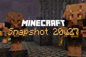minecraft snapshot 20w27