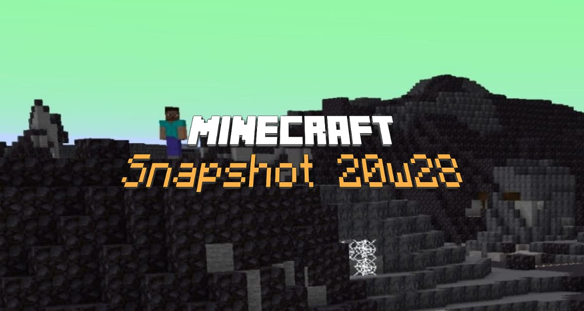 Snapshot 20w28a : Minecraft 1.16.2