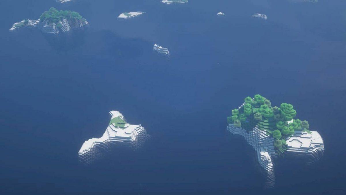 seed minecraft 1.16 archipel