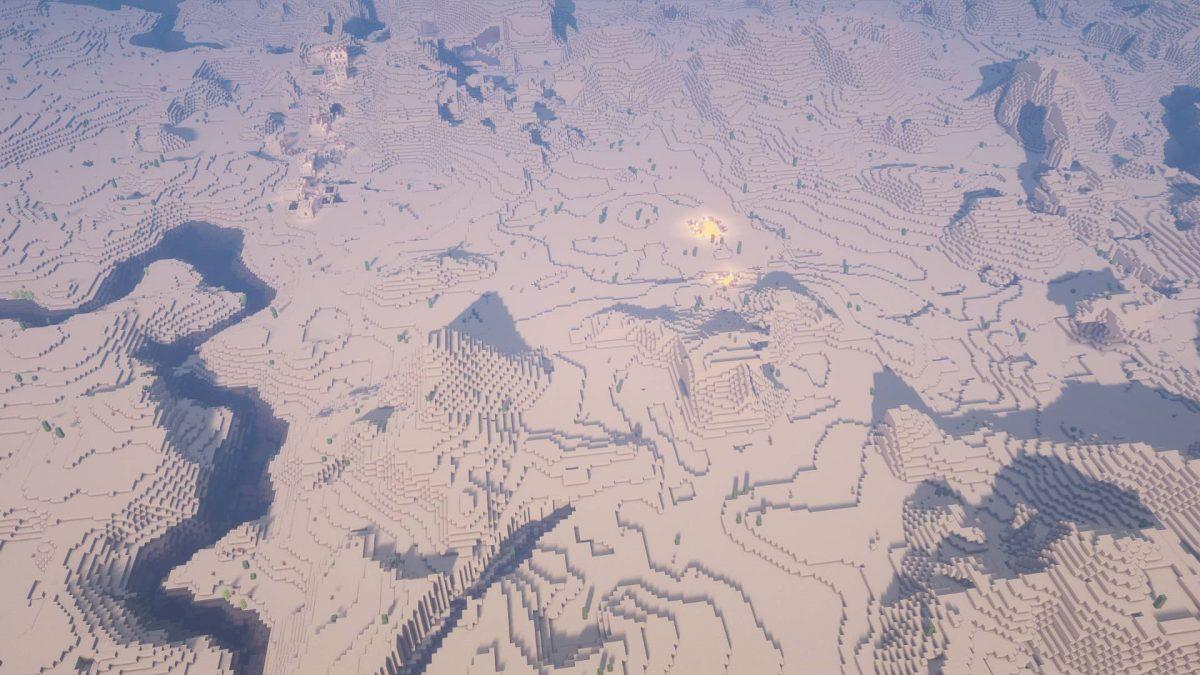 seed minecraft 1.16 desert sans fin