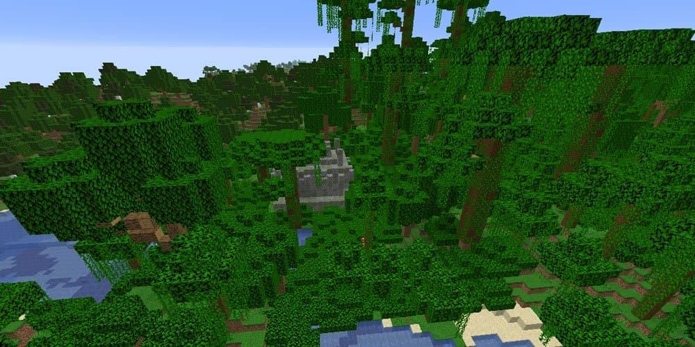 seed minecraft 1.16 jungle et temple