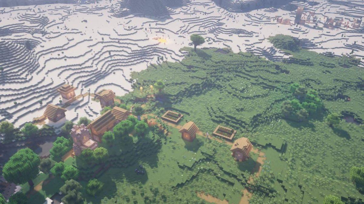 seed minecraft 1.16 nether rush