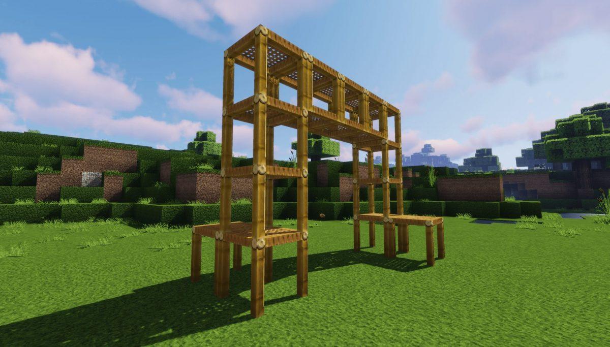 Pack de Texture Winthor Medieval : des échafaudages