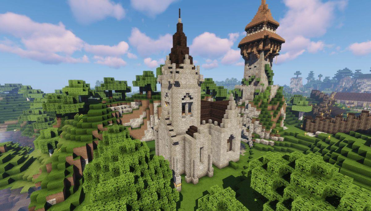 Pack de Texture Winthor Medieval : Une église