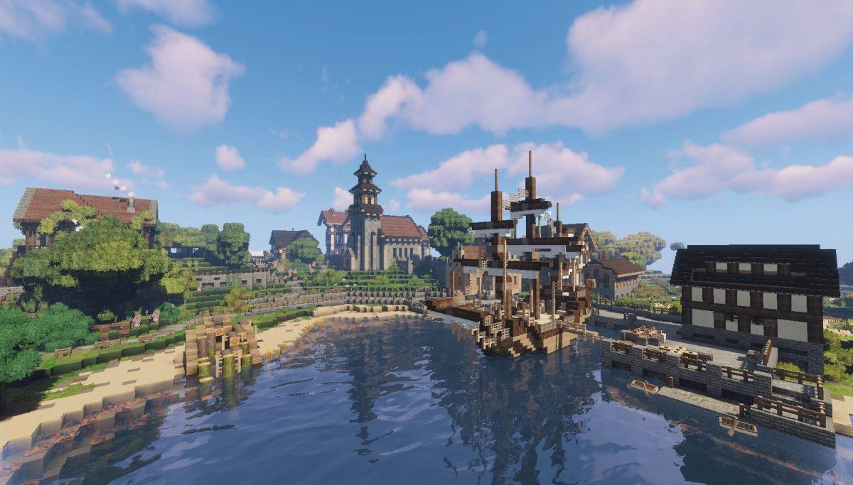 Pack de Texture Winthor Medieval : un hameau