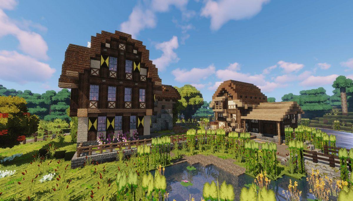Pack de Texture Winthor Medieval : un petit moulin