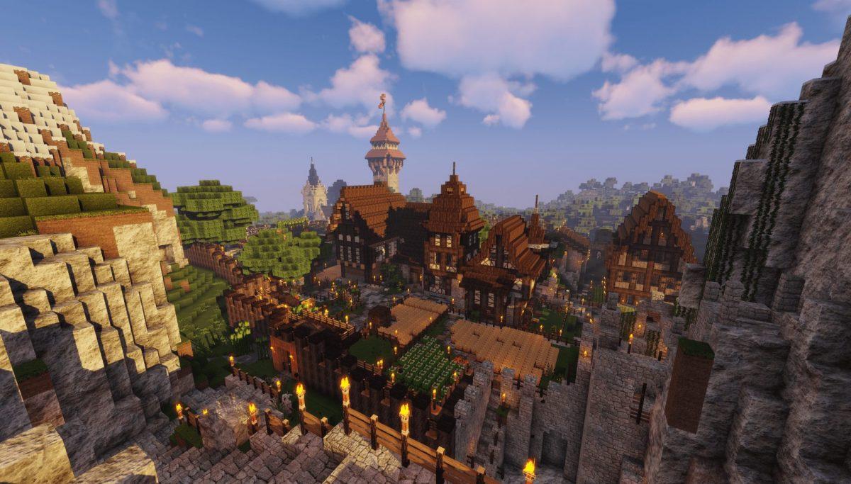 Pack de Texture Winthor Medieval : un autre village médiéval