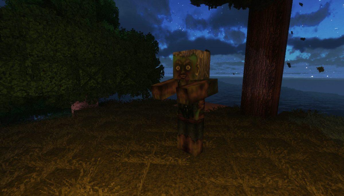 Pack de Texture Winthor Medieval : un zombie
