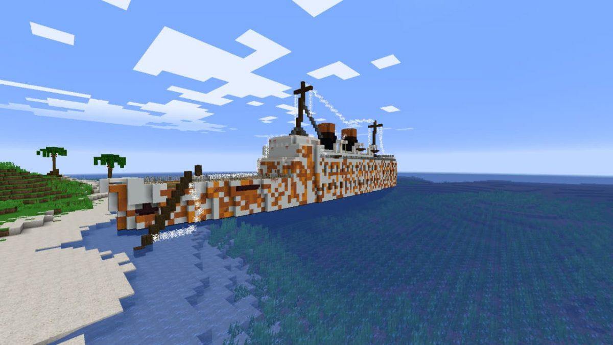 Map Survie Outcasted 2 : le bateau échoué