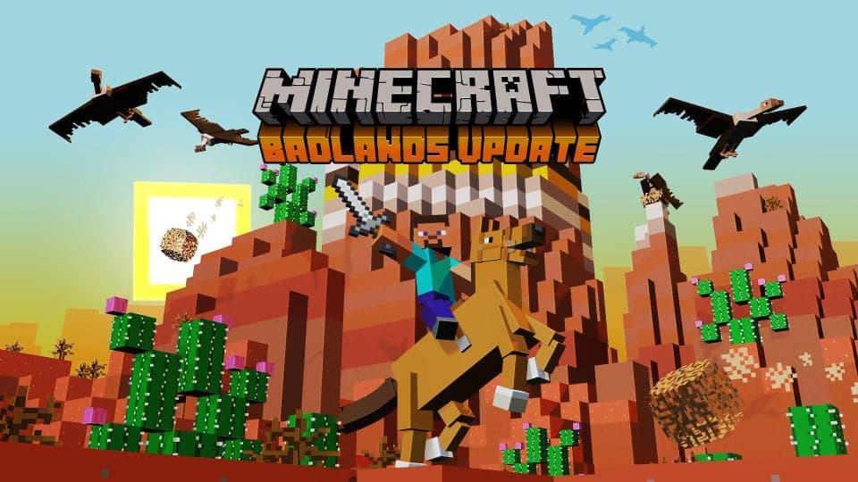 Minecraft 1.17 sera-t-elle la mise à jour des Badlands ?