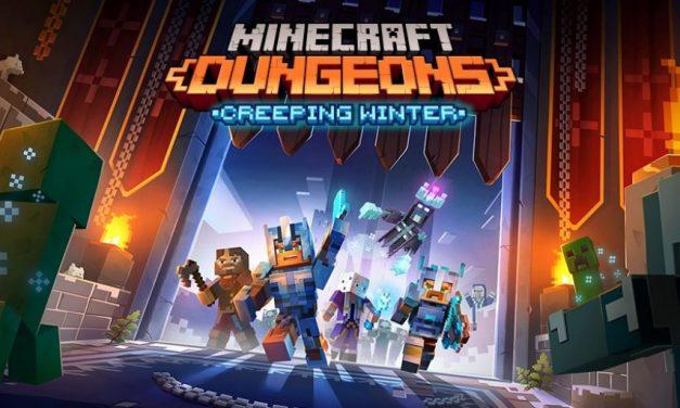 Minecraft Dungeons : Nouveau DLC «Hiver rampant» disponible et mise à jour gratuite
