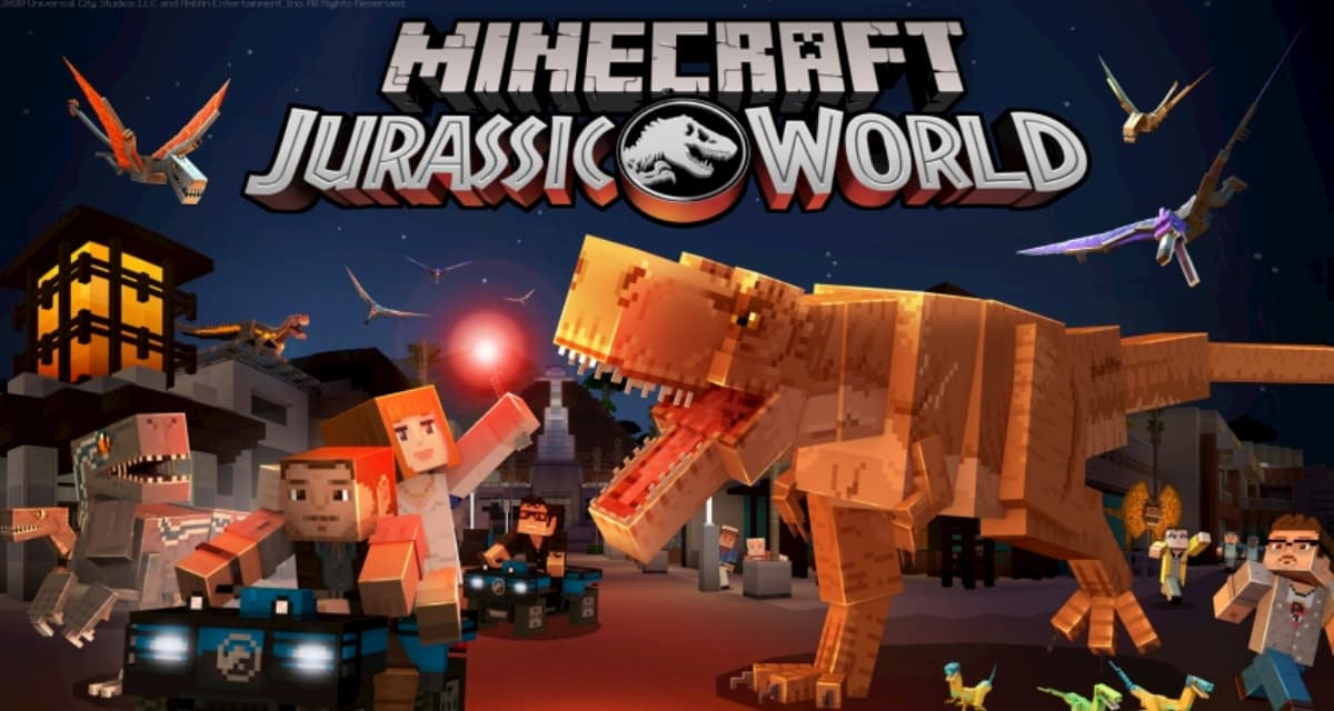 Jurrasic World débarque sur Minecraft Bedrock Edition