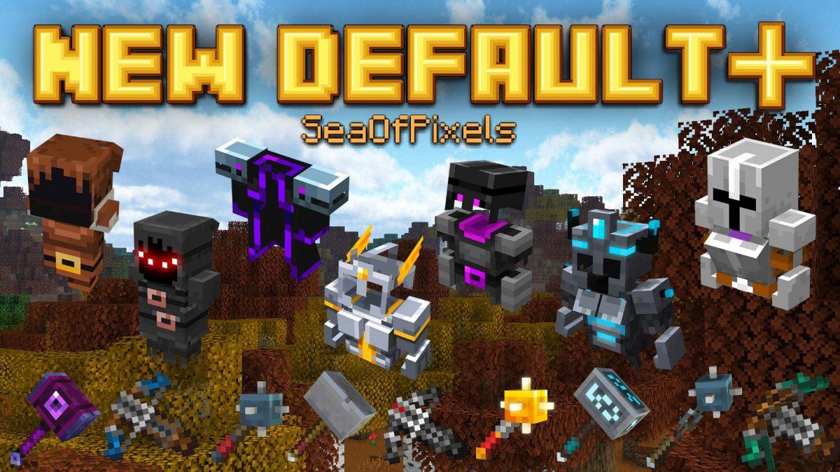 New Default + : Ajout des armures de minecraft dungeons