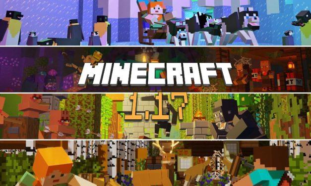 Quel sera le thème de la mise à jour 1.17 de Minecraft ?