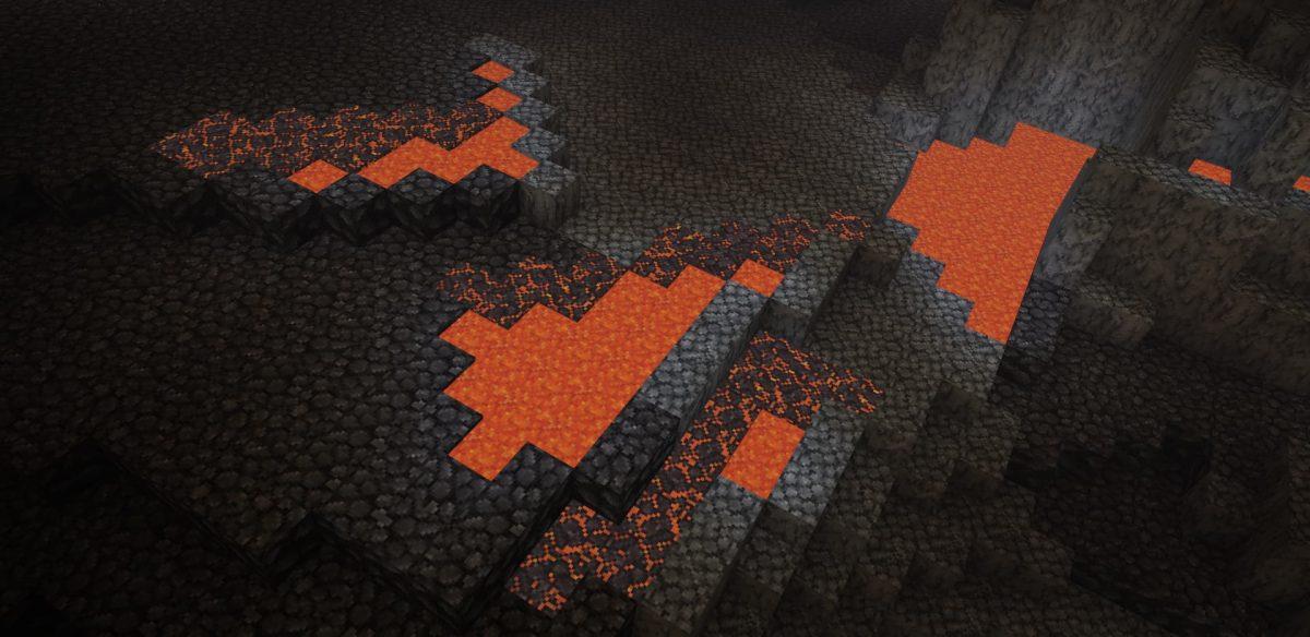 Pack de texture Unity : biome delta Nether