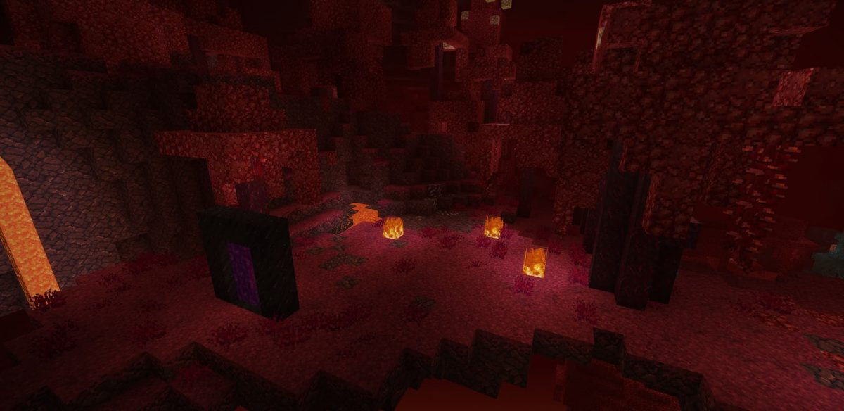 Pack de texture Unity : biome rouge Nether