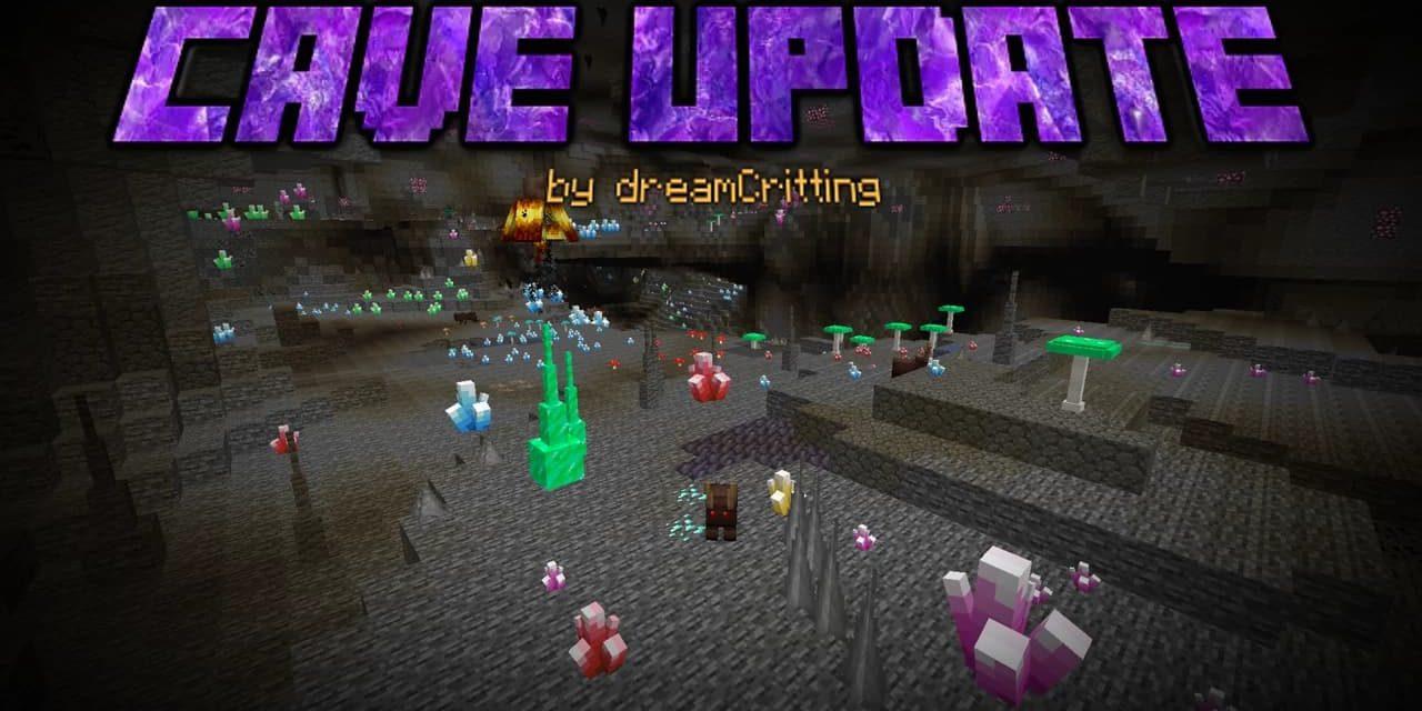 Minecraft Cave Update – Mod – 1.14.4 → 1.15.2