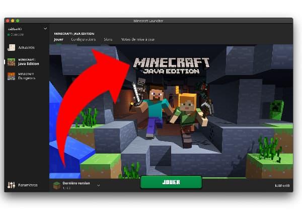 Comment changer de version de Minecraft ? lancer launcher