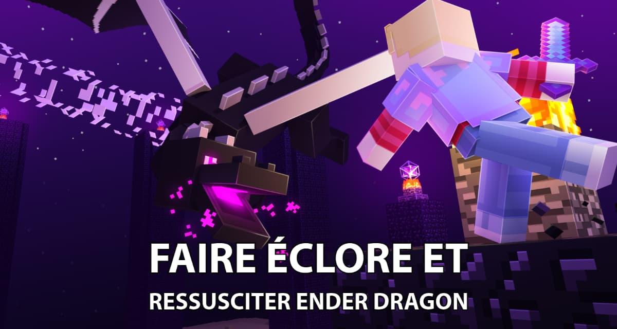 Comment faire éclore un oeuf de dragon dans Minecraft et ressusciter l'Ender Dragon ?