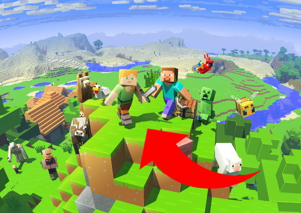 Comment trouver un village Minecraft : grand biome