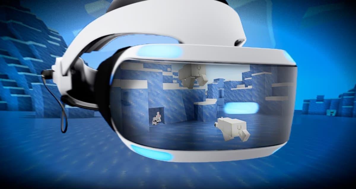 Minecraft est maintenant disponible sur PlayStation VR sous la forme d'une mise à jour gratuite