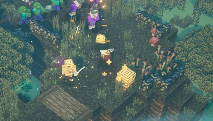 minecraft dungeons abeille
