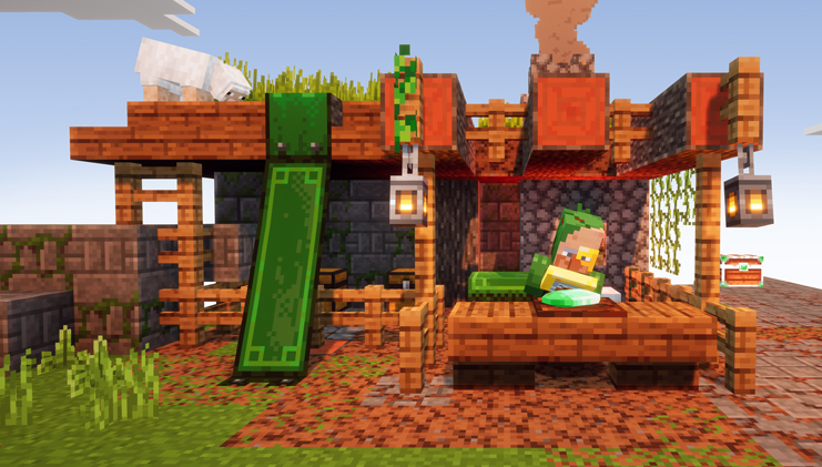 minecraft dungeons marchand du village