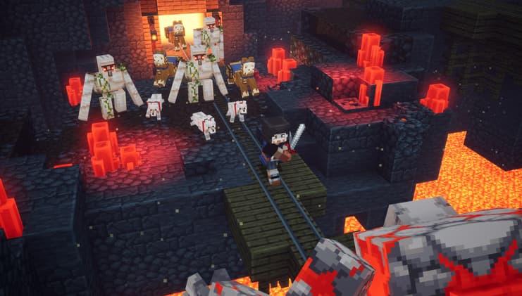 minecraft dungeons défi quotidien