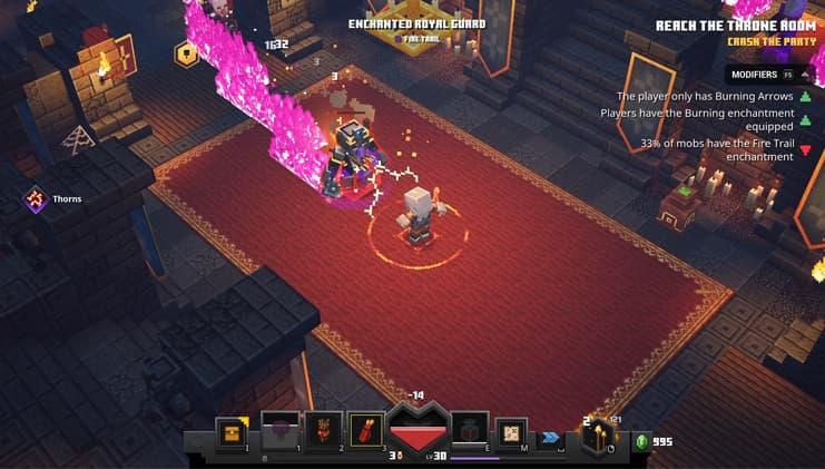 minecraft dungeons Un challenge épique