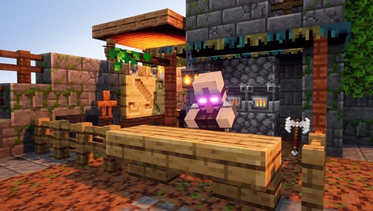 minecraft dungeons forgeron