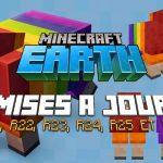 Minecraft Earth : Mises à jour R21, R22, R23, R24, R25 et R26