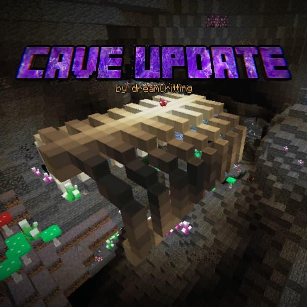 mod cave update minecraft