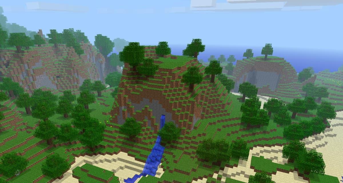 Le seed du pack de texture par défaut de Minecraft, pack.png, a été découvert