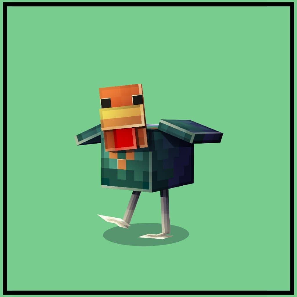 Poulet Bronzé dans Minecraft Earth