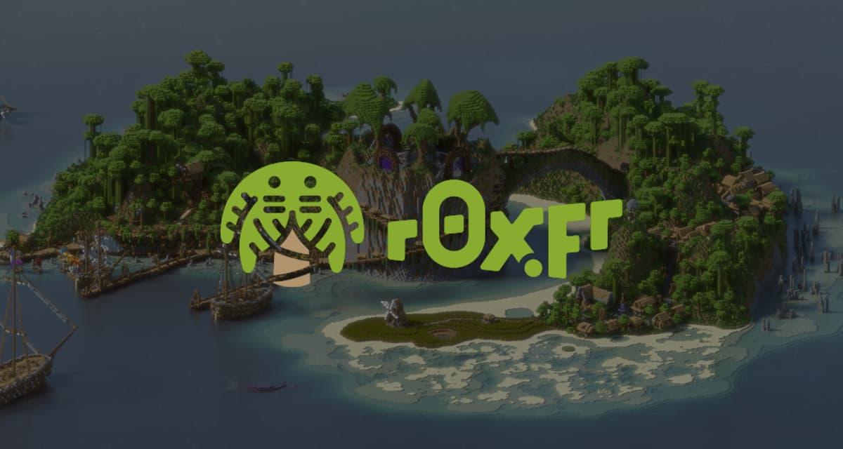 r0x.fr, Communauté de serveurs Minecraft (Freebuild, Survival)