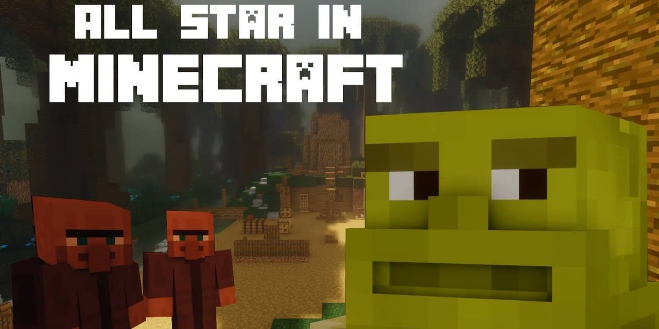 Shrek All Star dans Minecraft