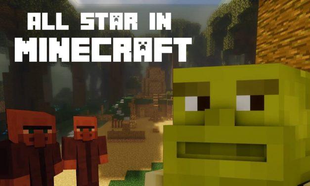 Shrek All Star dans Minecraft