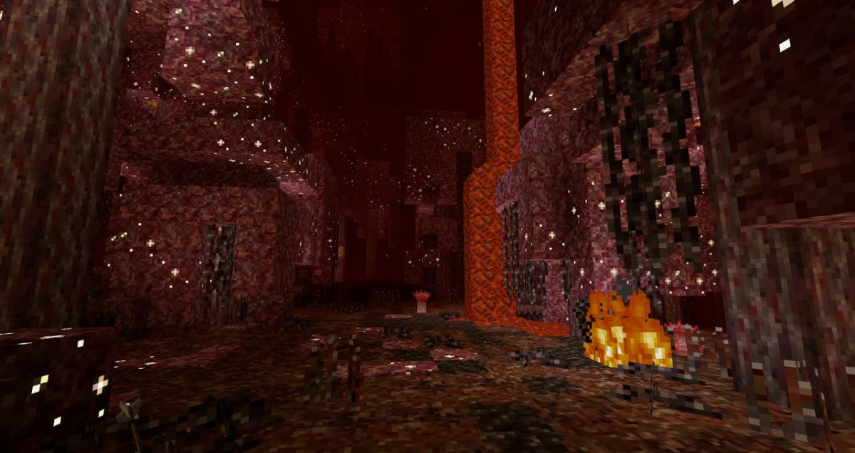 Thine Explorer's Pack Revival – Pack de Textures : dans le nether et la forêt carmin