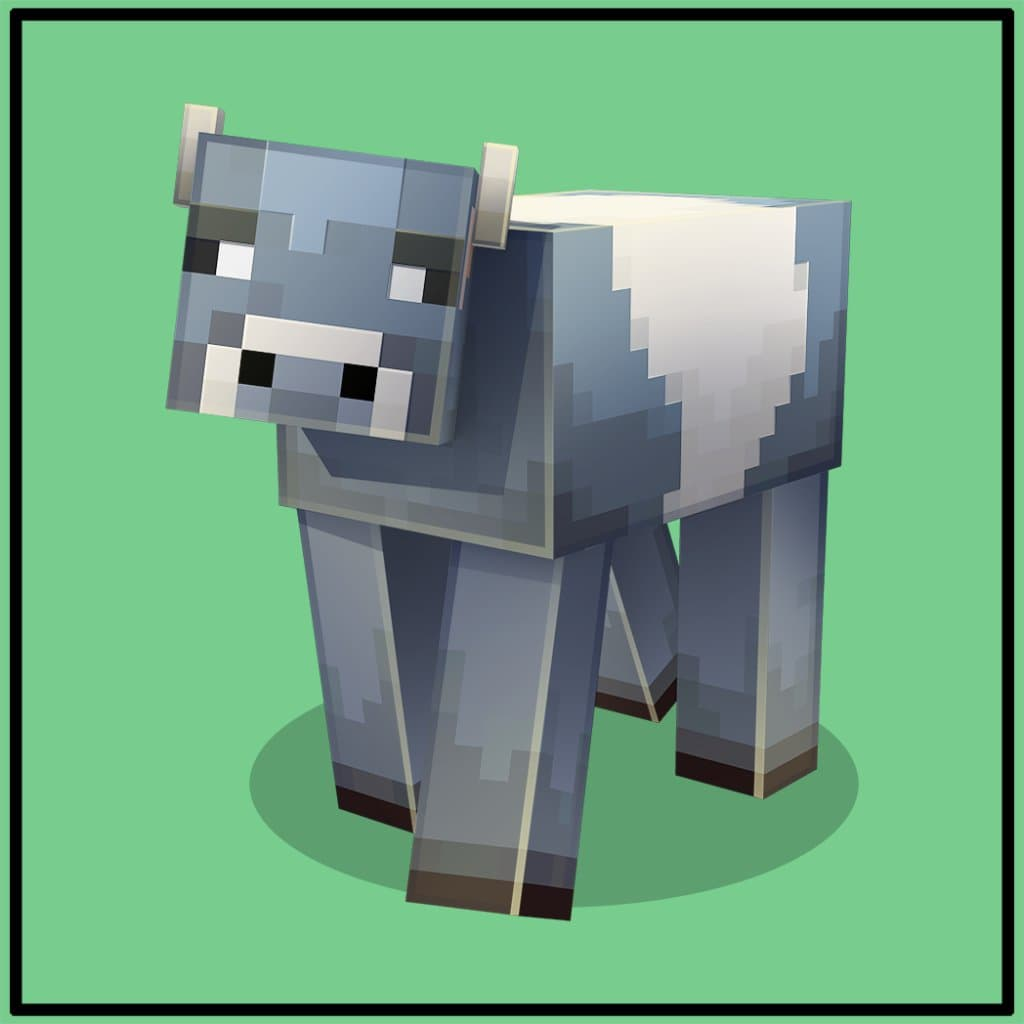 Vache cookie dans Minecraft Earth