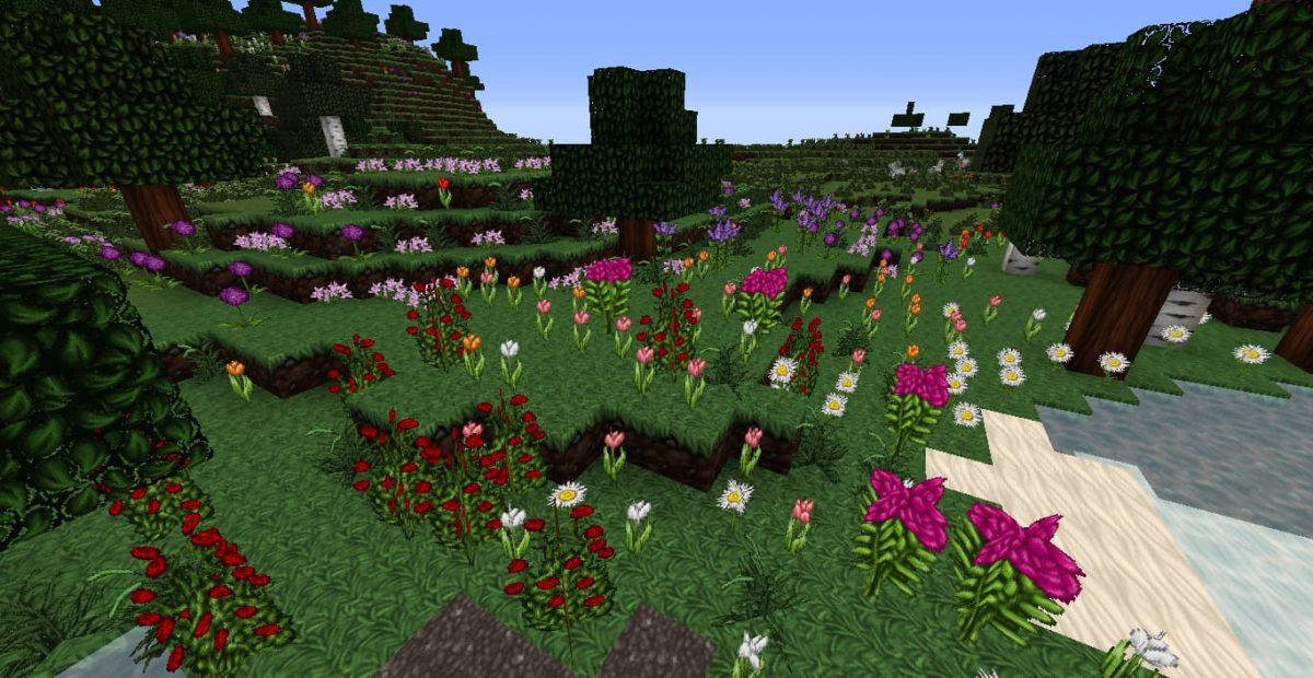 Pack de texture Wolfhound : fleurs