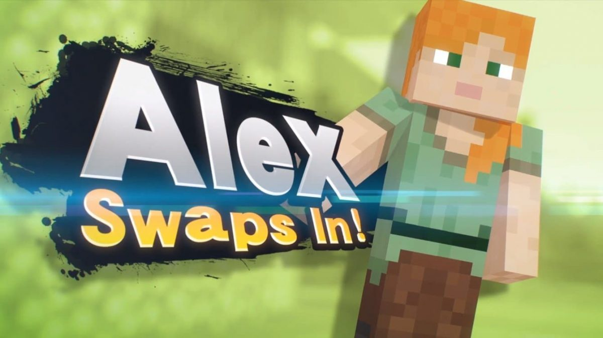 Alex dans Super Smash Bros. Ultimate