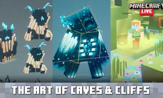 Découvrez les créations artistiques et les artistes qui travaillent sur la mise à jour 1.17 de Minecraft