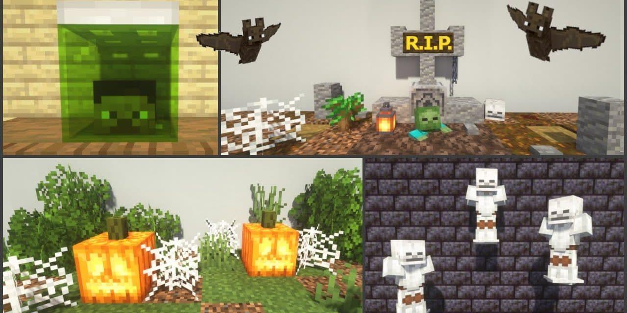 40 astuces de build / construction pour Halloween dans Minecraft