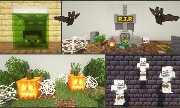 15 astuces de build / construction pour Halloween dans Minecraft