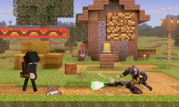 Un bug dans Super Smash Bros Ultimate permet à Steve de Minecraft de tuer instantanément ses ennemis