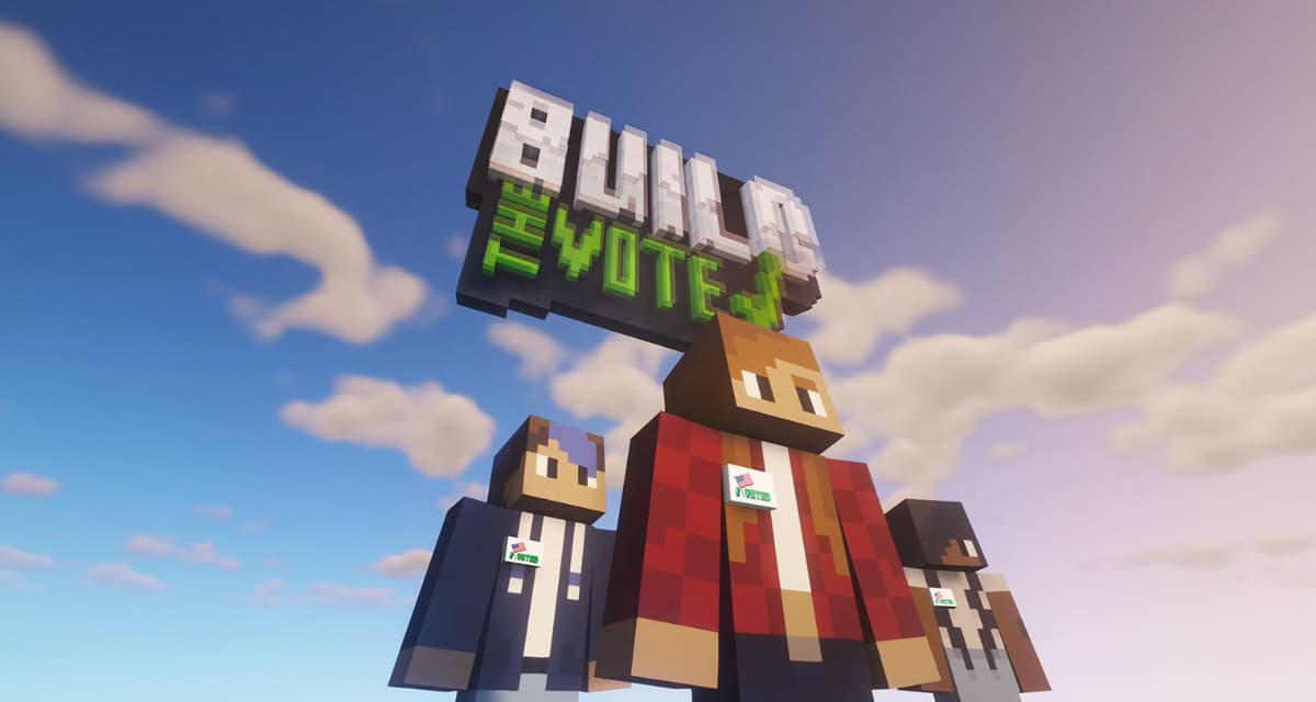 L'importance du vote aux Etats-Unis expliqué aux plus jeunes grâce à Minecraft