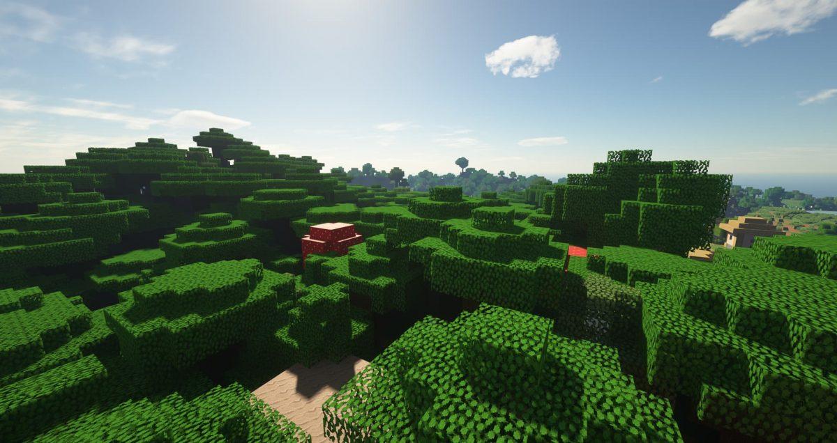 Immersion - Pack de textures : cime des arbres